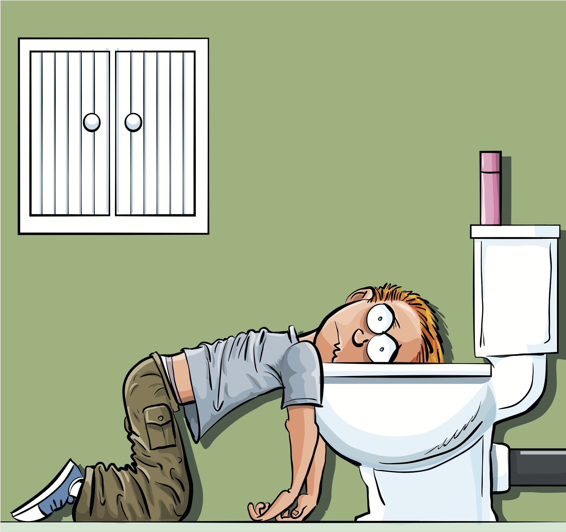 Vomiting, diarrhea, fever in the adult - what does it mean