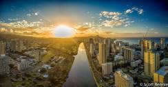 Ala Wai Canal Sunrise