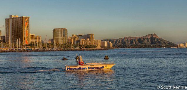 Hawaiian Parasail